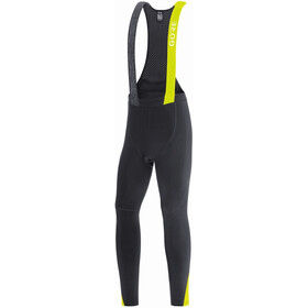 GORE WEAR C5+ Cuissard Long Thermo Homme, black/neon yellow